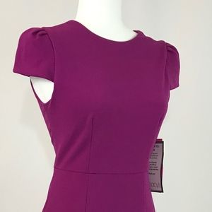 BETSEY JOHNSON purple woman midi dress (#56,57)